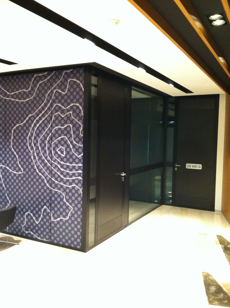 soundproof glass wall